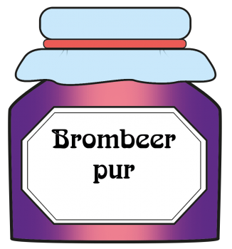 Brombeer pur