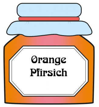 Orange / Pfirsich